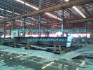 China De geprefabriceerde Commerciële Structureel Staalgebouwen voor Hangaars rangschikken 60 X 80 fabriek