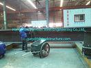 China Het vervaardigen pre bouwde Commerciële Staalgebouwen met h-Sectiepijlers/Stralen fabriek
