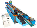 China 15KW de Koude Rolling Machine van het hoedenkanaal met Cr 12 Blad Hydraulisch Knipsel fabriek