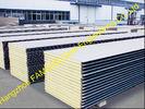 China Het Dakwerkbladen van het pakhuismetaal/Polyurethaancomité Hitteisolatie fabriek