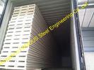 China Het dakwerk isoleerde Vuurvaste Sandwichcomités/Geperforeerde Metaalbladen fabriek
