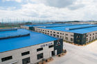 China OEM Geprefabriceerde Opslag van de Staalloods, het Scheren, het Zagen, de Malende pre-Gebouwde Bouw fabriek