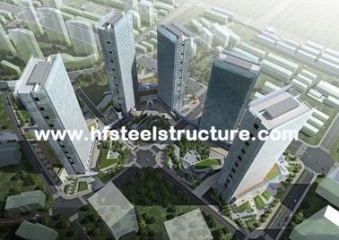 Harde en Duurzame, Hete Gegalvaniseerde Onderdompeling, de Industriële Waterdichte Staalbouw Met meerdere verdiepingen