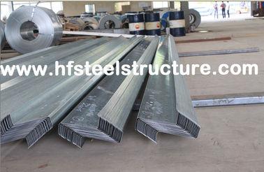 De Uitrustingen van staalgebouwen