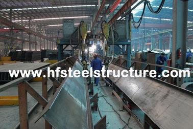 Het scheren, het Zagen, het Malen, Ponsen en Hete Onderdompelings Gegalvaniseerd Structureel Staal Fabrications