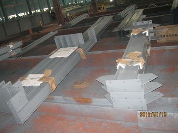 Industriële het Staalgebouwen van de structureel Staalvervaardiging voor Pakhuiskader