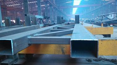 Staal die de Professionele Productielijn van Structureel Staalfabricationsby bouwen