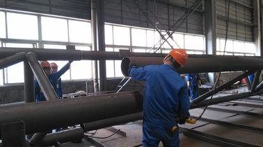 Pre-bouwt Componenten Structureel Staal Fabrications voor de Industriële Staalbouw