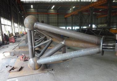 H Type/Doostype het Type van de Pijpbundel van Structureel Staalfabrications Vervaardiging
