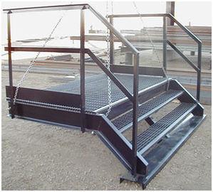 Q235/Q345 Structureel Staalfabricators heet-Ondergedompelde Gegalvaniseerde Oppervlakte