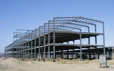 Aangepaste de multi-pan schilderde Structureel Staal Fabrications in Diepe Afmeting