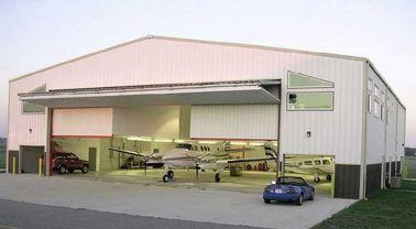 De aangepaste Geprefabriceerde Hangaars van Staalvliegtuigen met Arbeidsbesparend
