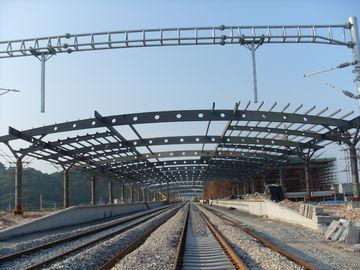 De Bundelgebouwen van het station Structurele Metaal, het Rust-proof Schilderen met 2-4 Lagen