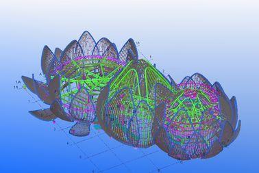 Lassend, Remmend en de Geprefabriceerde Industriële Ontwerpen van de Staal Structurele Techniek
