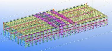 De pre-gebouwde Geprefabriceerde Ontwerpen van de Staal Commerciële Structurele Techniek